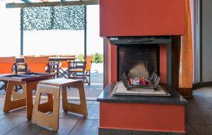 Skinos Ilivatos Fireplace